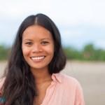 indonéz lány