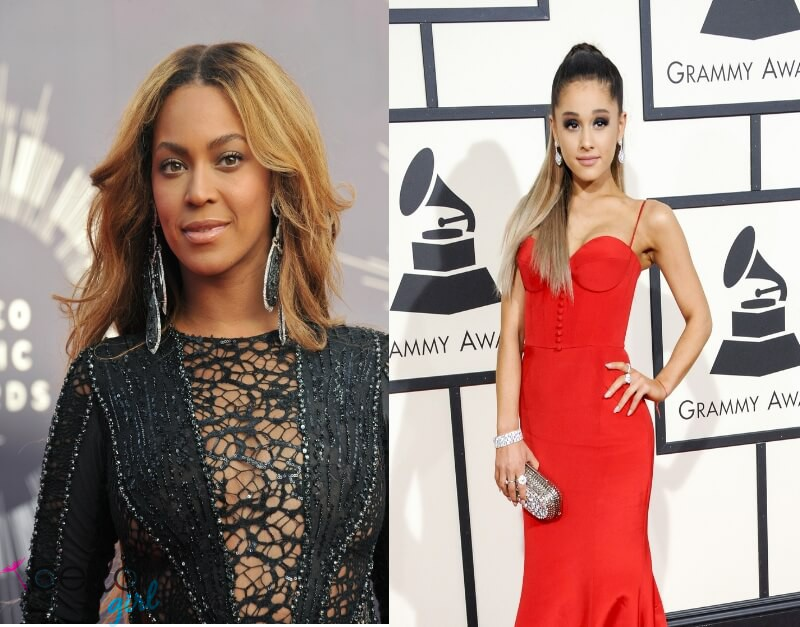 Beyoncé, Ariana Grande