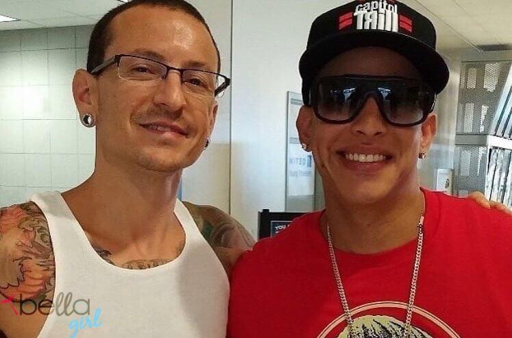 Daddy Yankee és Chester Bennington
