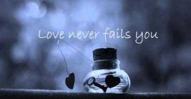 Love Never Fails - Brandon Heath