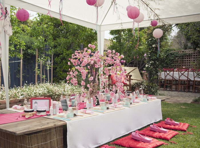 Spring Cherry Blossom Love And Party Decor