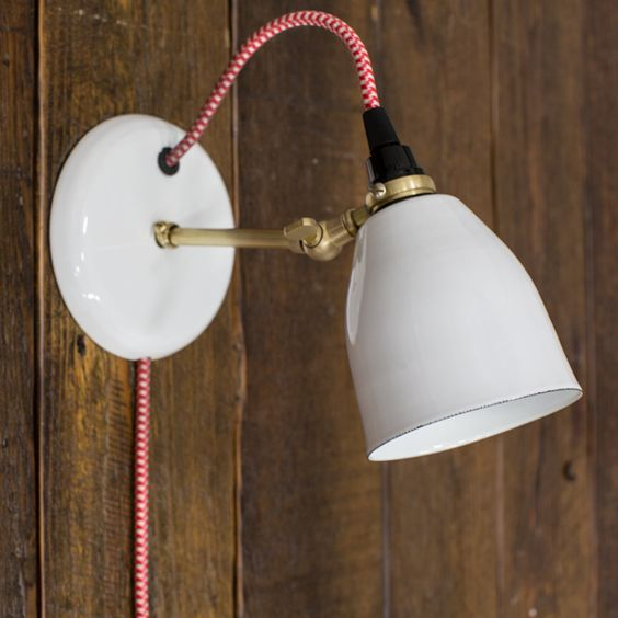 Plug-In Wall Sconces--Did I Just Blow Your Mind?