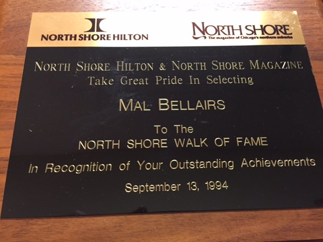 North Shore Walk of Fame -- Mal Bellairs