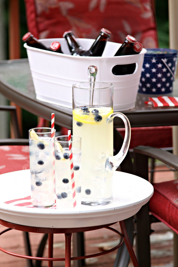 DIY Outdoor Serving Tray Bell Alimento