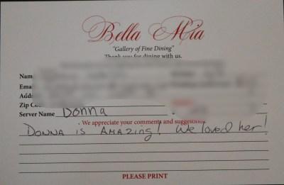 Bella Mia Fine Dining_3980