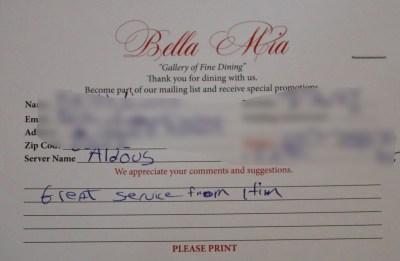 Bella Mia Fine Dining_4017