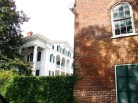 View of the Bellamy Mansion and its Slave Quarters