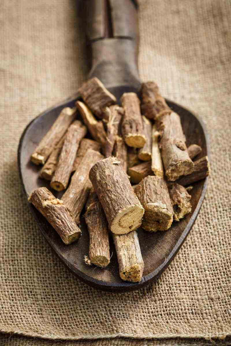 Licorice root has been shown to be able to both help induce sleep sleep and increase sleep's duration. If you have trouble waking up in the night, it might be worth trying a tea that contains this unique ingredient. #sleep #licorice #tea