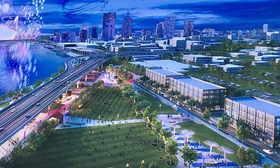 Mayor Greg Fischer's Plans for $35M expansion of Waterfront Park