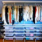 Walk In Closet Organizing Elfa Freestanding Closet System