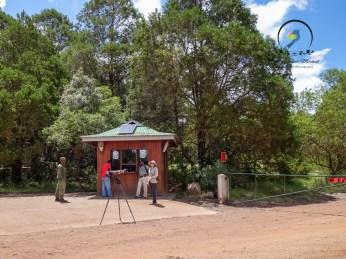 The walking safari checkpoint