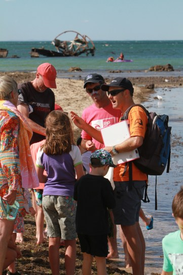 Caring for our coasts rockpool walkabout