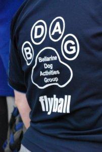 T-shirt with BDAG logo