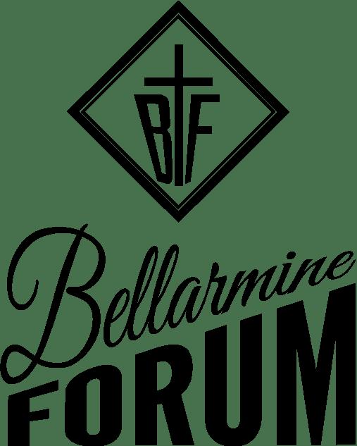 Bellarmine Forum Logo 2015 with Cross and diamond