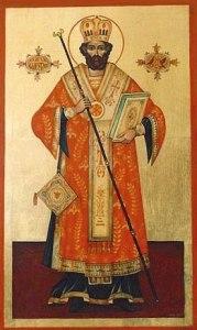 Icon of St Valentine