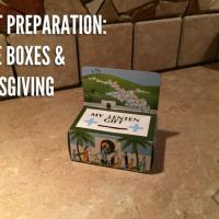 Lent Preparation:  Mite Boxes and Almsgiving
