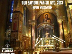 Our Saviour Parish NYC Before