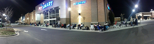 black friday lines photo