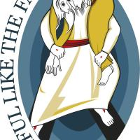 The Four Armed, Three Eyed Monster of the Year of Mercy Logo isn't Catholic