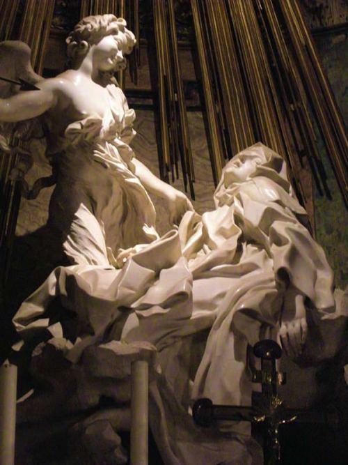 st teresa ecstasy statue