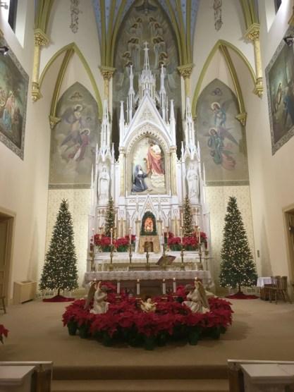 sacered heart christmas