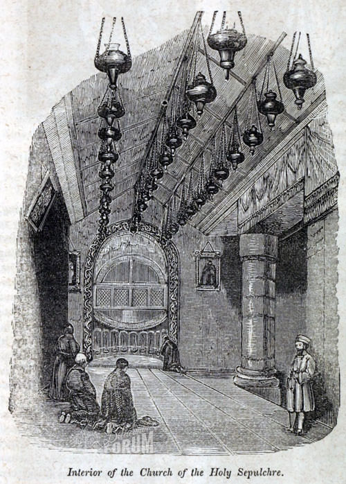 Image of the Holy Sepulchre from The Metropolitan magazine