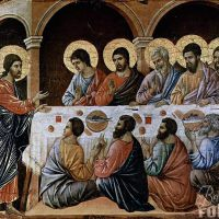 17. — The Appearance of Jesus to the assembled Apostles.