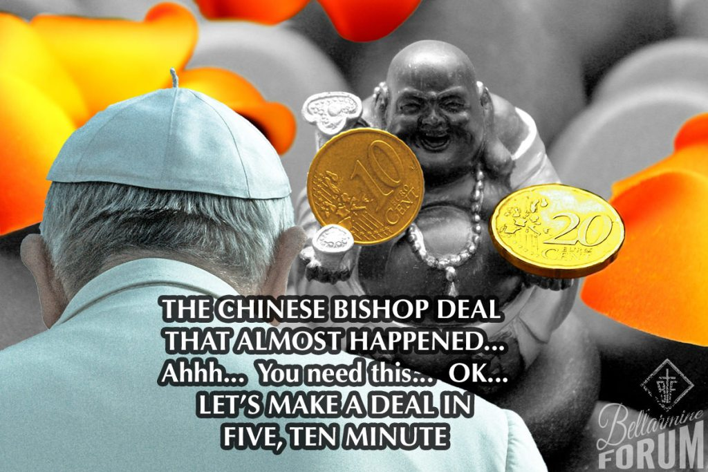 vatican china deal bishops swift benedict zen