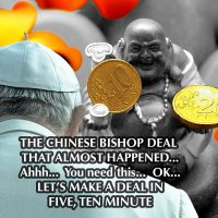 SPECULATION:  Pope Francis, Chinese Bishops, SWIFT, and Benedict's Resignation