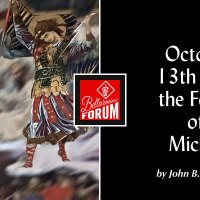 Leo XIII, October 13th, and the Feast of St. Michael