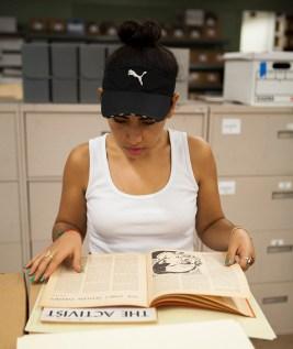 Mayra Cortez 1 - Unpacking Watts History at the Southern California Library