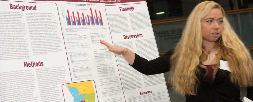 Sara Cohen Crop 1024x414 - Students Share Research with LMU Community