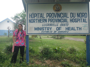 Jennifer Neczypor '09 served in the Peace Corps in Vanuatu, an island nation in the South Pacific Ocean.