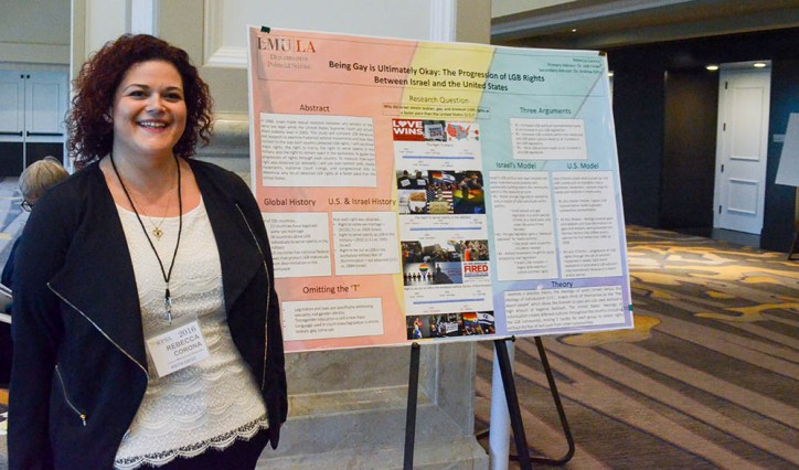 corona - Political Science Students Present Research at National Conference