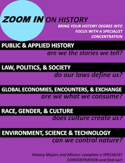 learn more about the five new history concentrations at bellarmine.lmu.edu/history