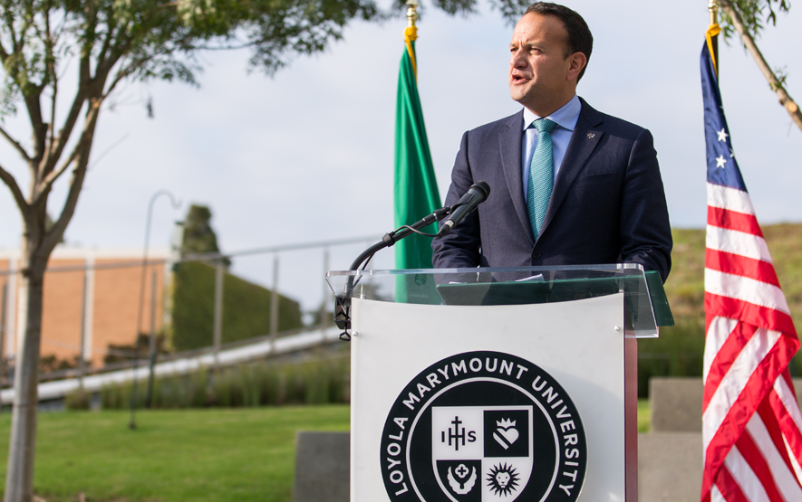 taoiseach - Irish Prime Minister Closes Los Angeles Visit with Stop at LMU