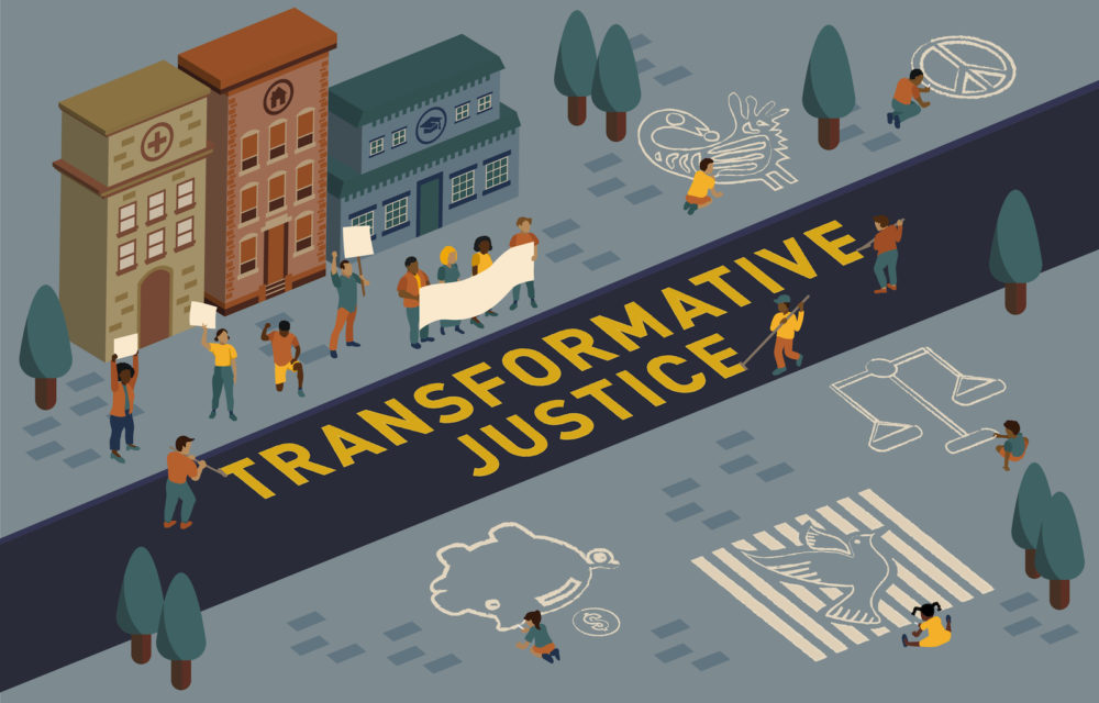 TransformativeJustice KeyArt 1600x1000 scaled - Bellarmine Forum 2020: Building Transformative Justice Where We Stand