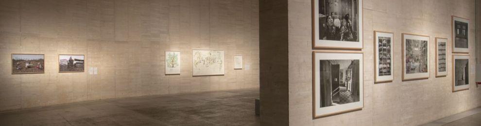 Simeón Saiz, profesor de la Facultad, participa en la exposición 'Memoria del porvenir' en el MUSAC de León