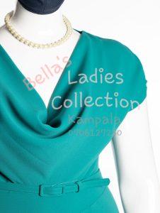 Size 22 ladies office dress, Seafoam Green.