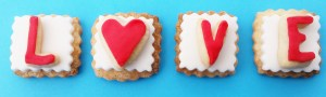 Valentines Day cookies are a beautiful and delicious way to say I love you!