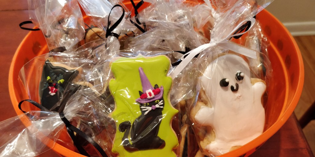 Halloween cookies for a school in Denver, CO