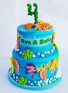 Bubble Guppies birthday cake is a big hit with Philly children