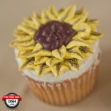 Sunflower Cupcake - Bella's Desserts of Philadelphia