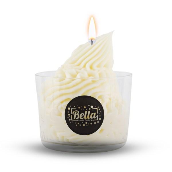 dessert candle vanilla