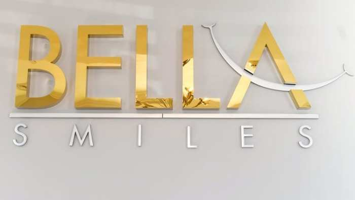 Bella Smiles signage in Long Island NY