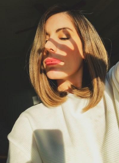 Easy Sleek, Straight Hairstyle