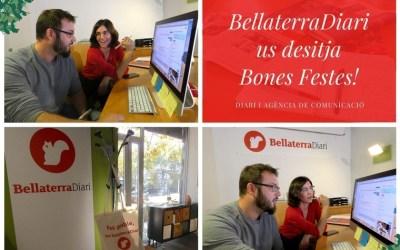BellaterraDiari us desitja bones festes i un any ple de comunicació!
