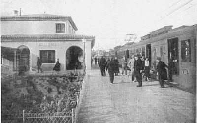 Com era l'estació de Bellaterra el 1935