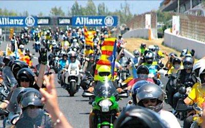 La Motorada pel Sí, diumenge al Circuit de Catalunya