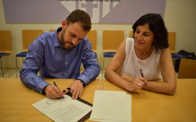 El PSC signa un acord programàtic amb En Comú Podem a l'Ajuntament